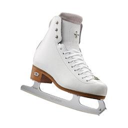 Riedell 91 Flair Girls Figure Ice Skates, White, 256