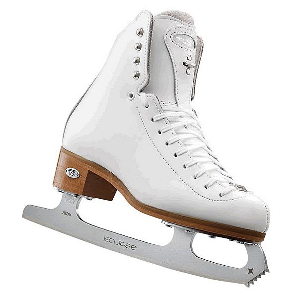 Riedell 255 Motion Womens Figure Ice Skates, White, 600