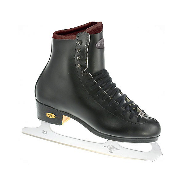 Riedell 25 Motion Kids Figure Ice Skates, Black, 600