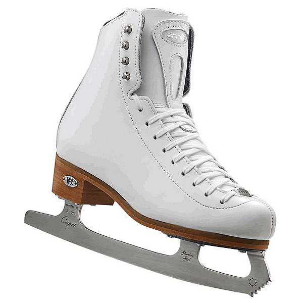Riedell 223 Stride Womens Figure Ice Skates, White, 600