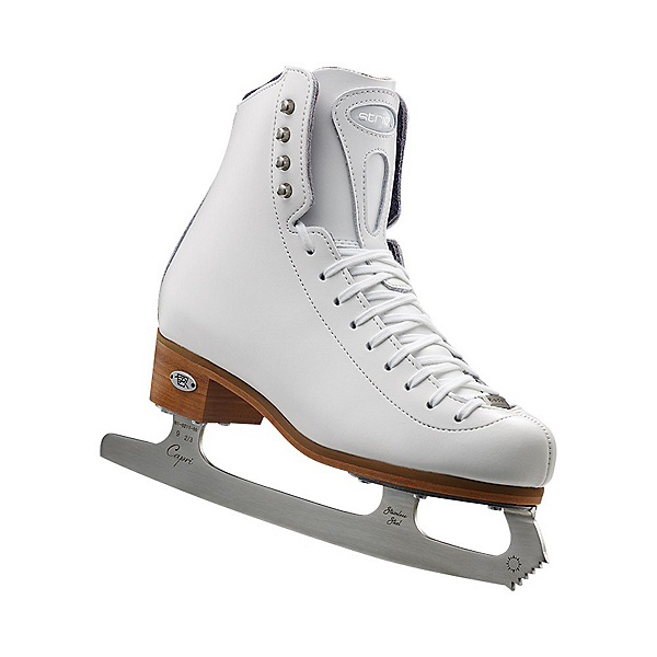 Riedell 23 Stride Girls Figure Ice Skates, White, 600