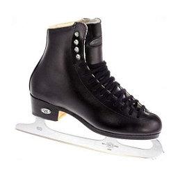 Riedell 119 Emerald Mens Figure Ice Skates, Black, 256