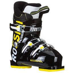 Rossignol Comp J 3 Kids Ski Boots, Black, 256