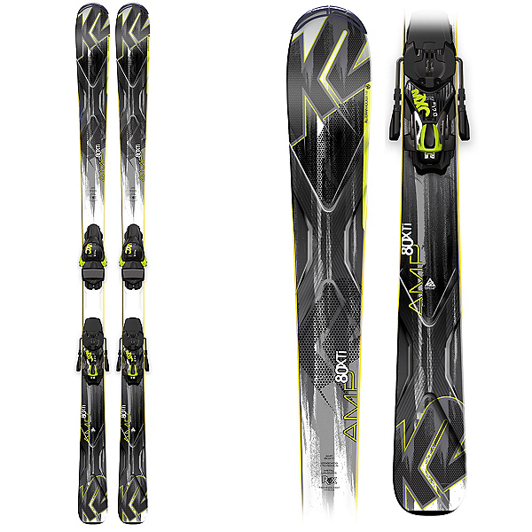 K2 AMP 80 XTi Skis with K2/Marker MXC 12 Bindings, , 600