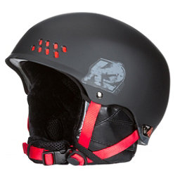 K2 Phase Pro Audio Helmet, Black-Red, 256