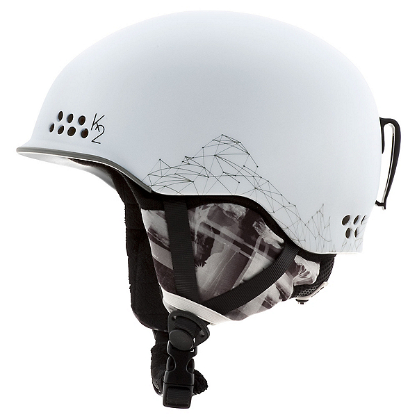 K2 Ally Pro Womens Audio Helmet, White, 600