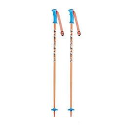 K2 Decoy Kids Ski Poles, Orange, 256