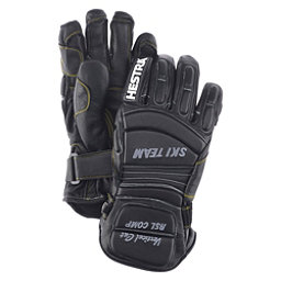Hestra RSL Comp Vertical Cut Womens Ski Racing Gloves, Black, 256