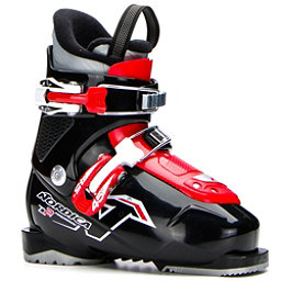 Nordica Team 2 Kids Ski Boots 2018, Black-Red, 256