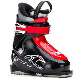 Nordica Team 1 Kids Ski Boots 2018, Black-Red, 256