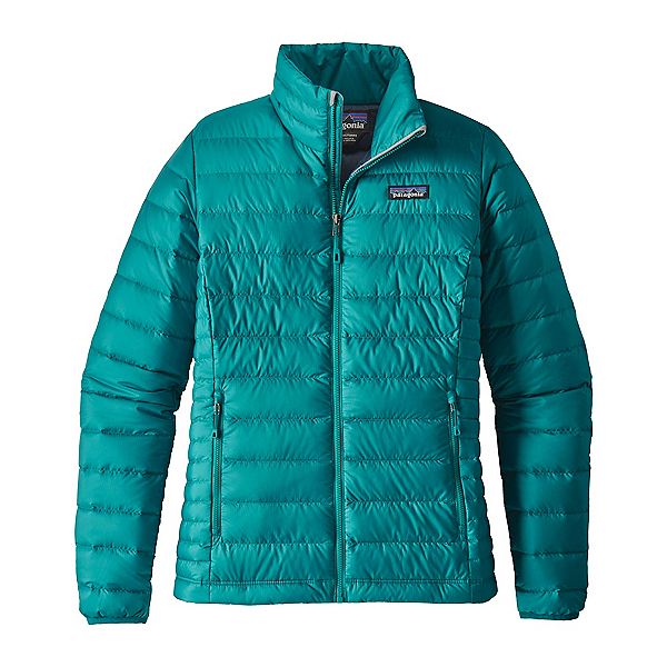 Patagonia Down Sweater Womens Jacket, Elwha Blue, 600