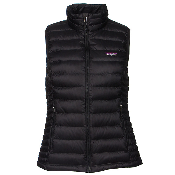 Patagonia Down Sweater Womens Vest, Black, 600