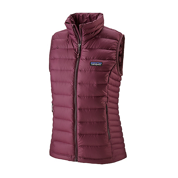 Patagonia Down Sweater Womens Vest, Light Balsamic, 600