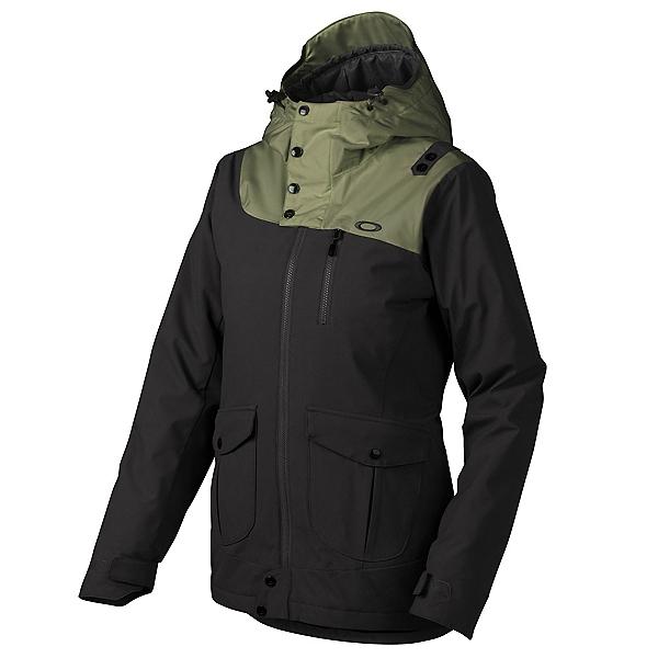 Oakley 10-4 Womens Insulated Snowboard Jacket, Jet Black, 600