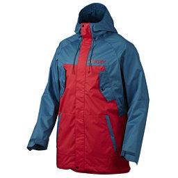Oakley Regiment Mens Shell Snowboard Jacket, Moroccan Blue, 256