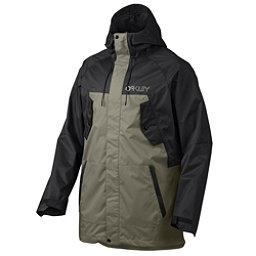 Oakley Regiment Mens Shell Snowboard Jacket, Jet Black, 256
