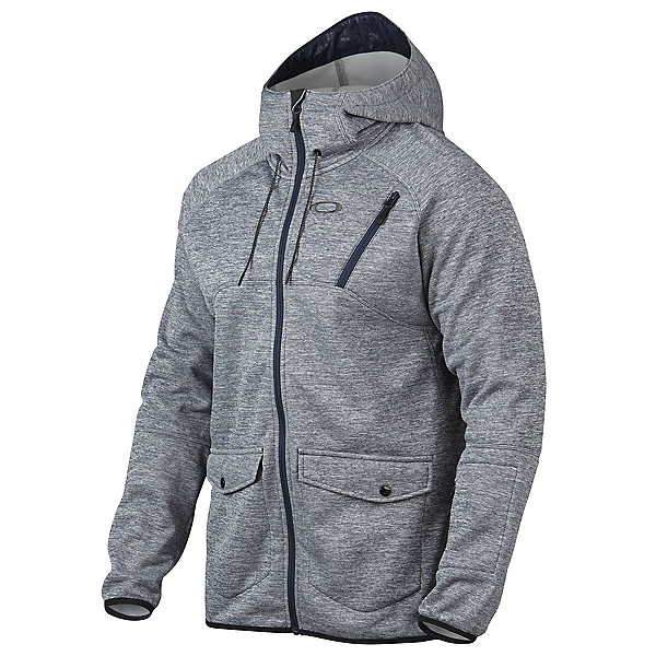 Oakley Fuel Tank Fleece Mens Jacket, Peacoat, 600