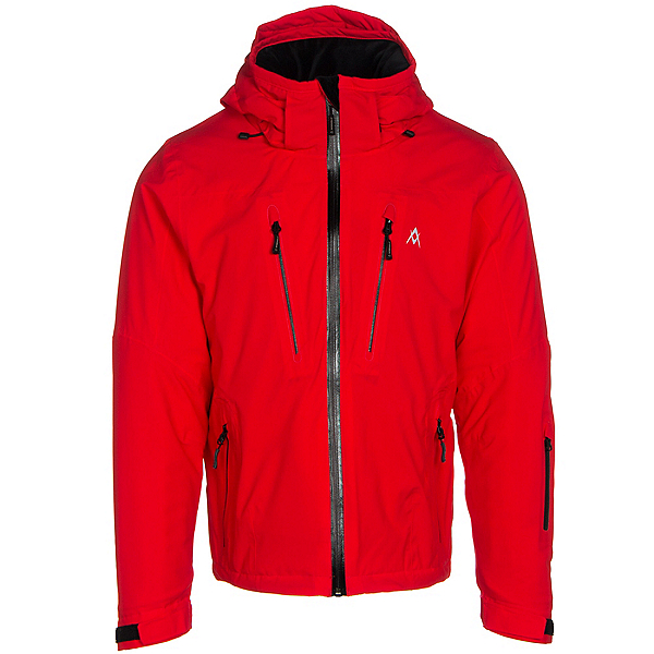 Volkl Perfect Fitting Big and Tall Mens Insulated Ski Jacket, Red, 600