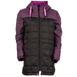 686 Airflight Down Parka Womens Insulated Snowboard Jacket, Coffee, 256