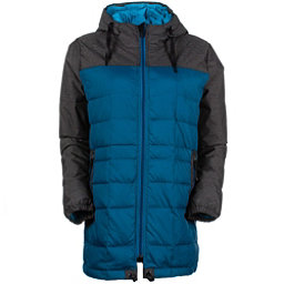 686 Airflight Down Parka Womens Insulated Snowboard Jacket, Lagoon, 256