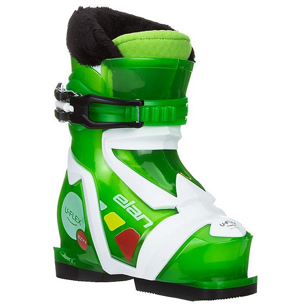 Elan Ezyy 1 Kids Ski Boots, Green, 600