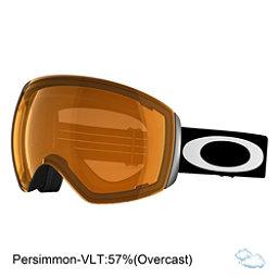 Oakley Flight Deck Goggles, Matte Black-Persimmon, 256