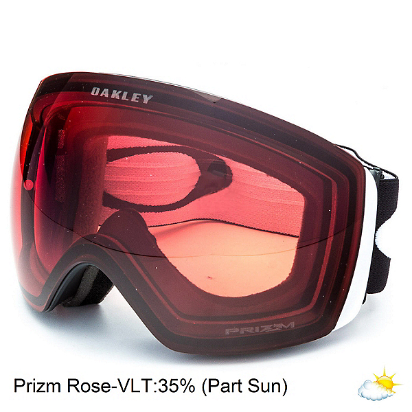 Oakley Flight Deck XL Prizm Goggles, Matte Black-Prizm Rose, 600