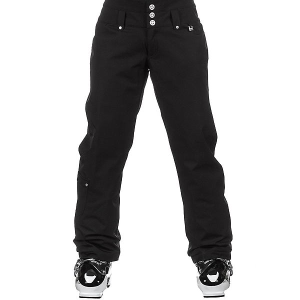 NILS Annalise Long Womens Ski Pants, Black, 600