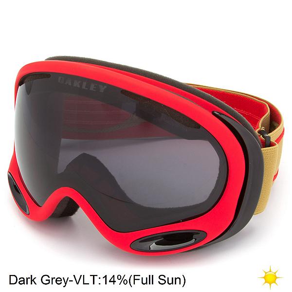Oakley A Frame 2.0 Goggles, Copper Red-Dark Grey, 600