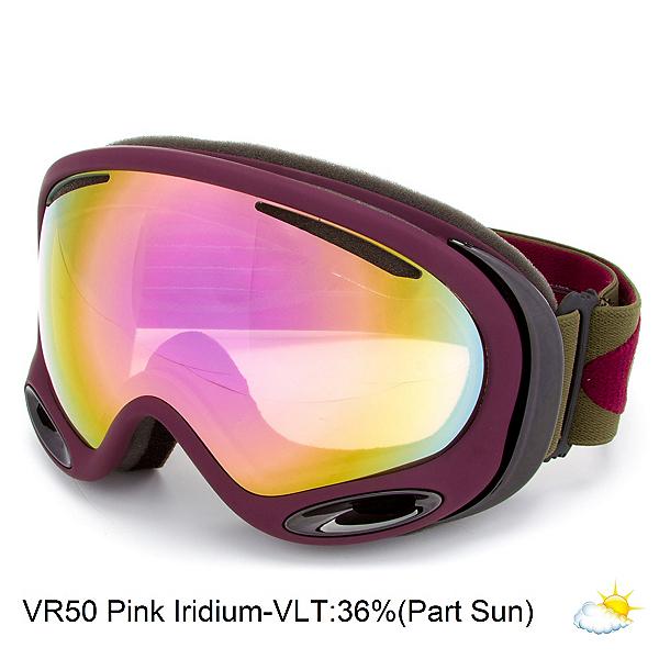 Oakley A Frame 2.0 Goggles, Herb Rhone-Vr50 Pink Iridium, 600