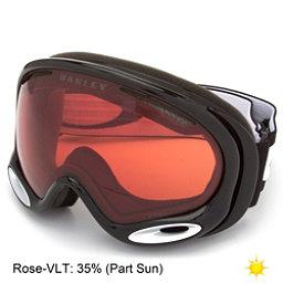 Oakley A Frame 2.0 Prizm Goggles, Jet Black-Prizm Rose, 256