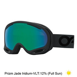Oakley A Frame 2.0 Prizm Goggles 2018, Factory Pilot Blackout-Prizm J, 256