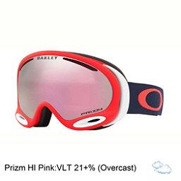 Oakley A Frame 2.0 Prizm Goggles 2018, Coral Fathom-Prizm Hi Pink Iridium, 256