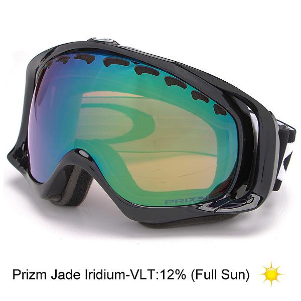 Oakley Crowbar Prizm Goggles, Jet Black-Prizm Jade Iridium, 600