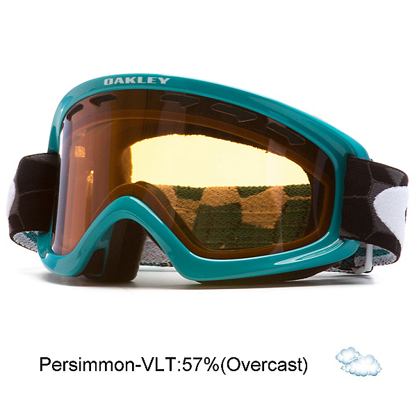 Oakley O2 XS Kids Goggles, Cell Blocked Teal-Persimmon, 600