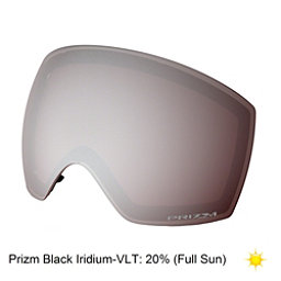Oakley Flight Deck Goggle Replacement Lens, Prizm Black Iridium, 256