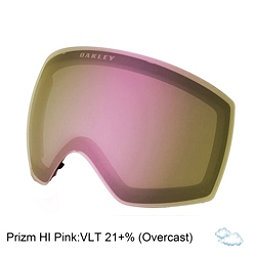 Oakley Flight Deck Goggle Replacement Lens, Prizm Hi Pink Iridium, 256