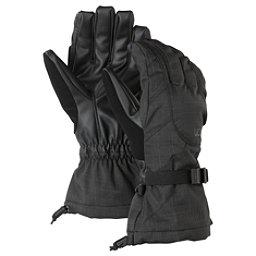 Burton Approach Womens Gloves, True Black, 256