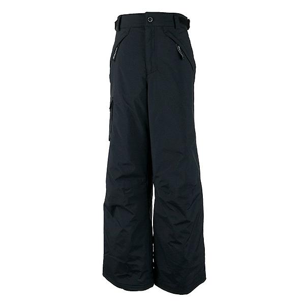 Obermeyer Carve Cargo Teen Boys Ski Pants, Black, 600
