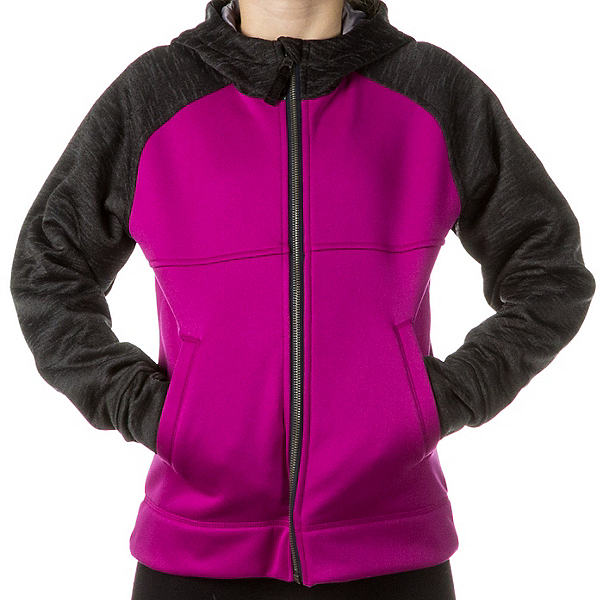 Obermeyer Stevie Fleece Teen Girls Hoodie, Aster, 600