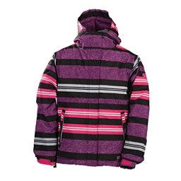 686 Mannual Heather Insulated Girls Snowboard Jacket, Light Plum, 256
