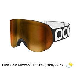 POC Lid Goggles, Uranium Black-Pink Gold Mirror, 256