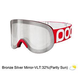 POC Lid Goggles, Bohrium Red-Bronze Silver Mirror, 256