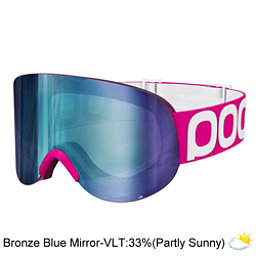 POC Lid Goggles, Fluorescent Pink-Bronze Blue M, 256