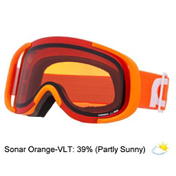 POC Cornea Goggles, Zink Orange-Sonar Orange, 256