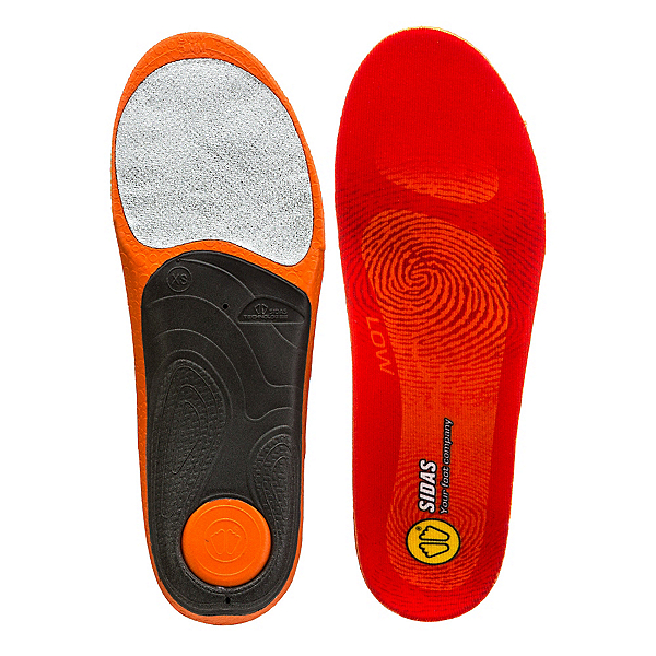 Sidas 3 Feet Low Arch Insoles 2018, , 600