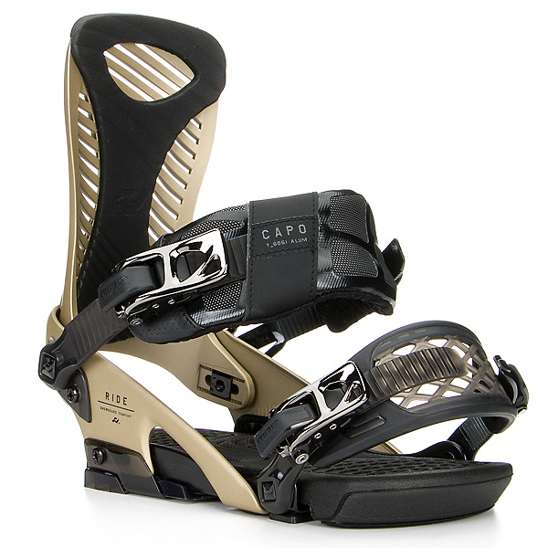 Ride Capo Snowboard Bindings, Gold, 600