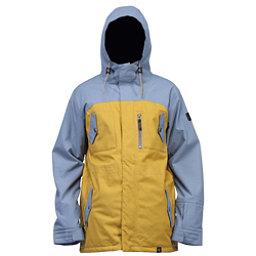 Cappel Revolution Mens Insulated Snowboard Jacket, Bronze Tweed, 256