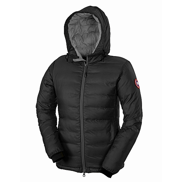 Canada Goose Camp Hoody Womens Jacket, Black, 600
