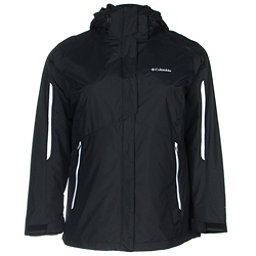 Columbia Bugaboo Interchange Womens Insulated Ski Jacket, Black, 256
